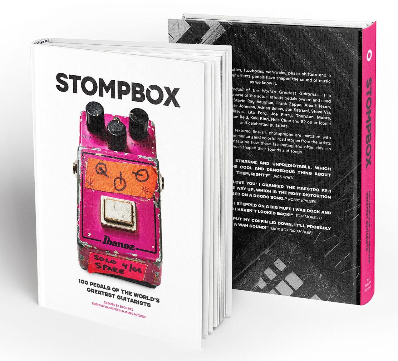 Stompbox Book - 100 pedals of the world's greatest guitarists